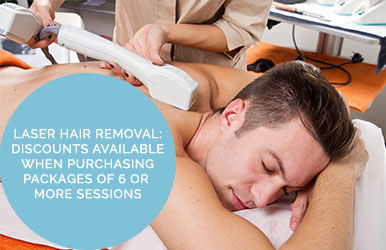 Laser Hair Removal: Discounts Available When Purchasing Packages Of 6 Or More Sessions